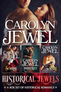 Cover of A Historical Jewels by Carolyn Jewel