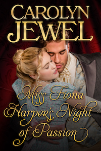 Cover of Miss Fiona Harper's Night of Passion by Carolyn Jewel