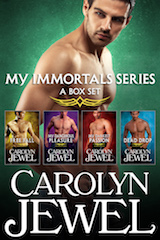 Cover of My Immortals Boxed Set by Carolyn Jewel