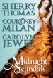 Cover of Mightnight Scandals, a Historical Romance Anthology