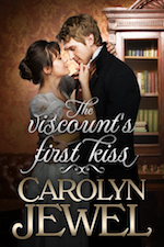 Cover of The Viscount's First Kiss
